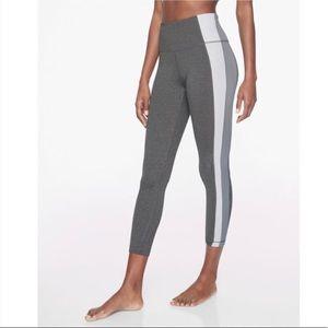 Athleta 2x Color Block Asymmetrical Leggings Tight